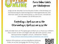 Online-Gebet Ostern